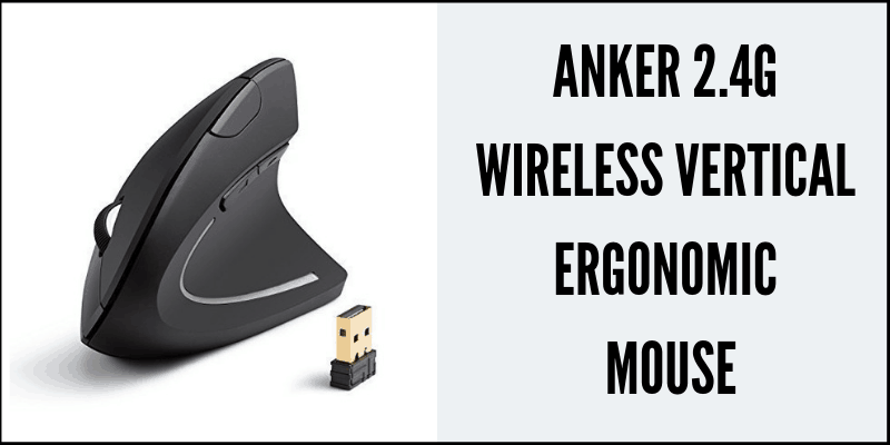 Anker 2.4G Wireless Vertical Ergonomic Mouse