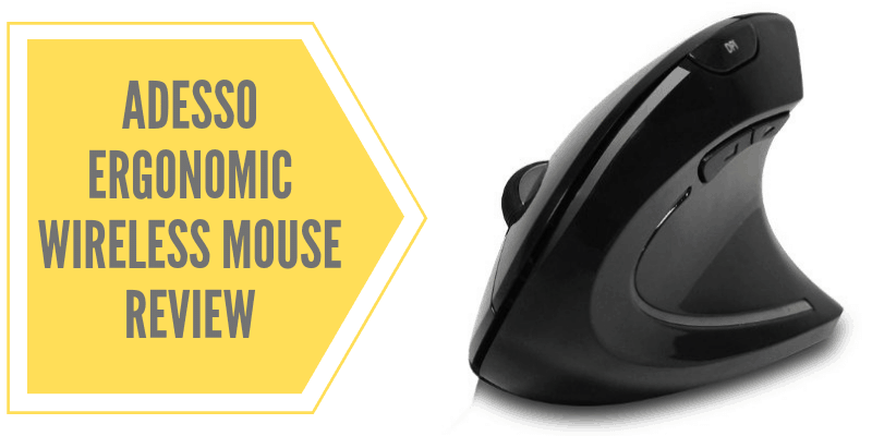 Adesso Vertical Ergonomic Wireless Mouse Review