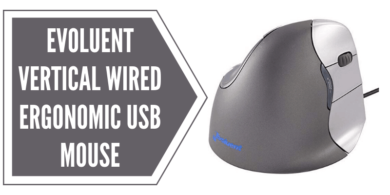 Evoluent Vertical Wired USB Ergonomic Mouse Review
